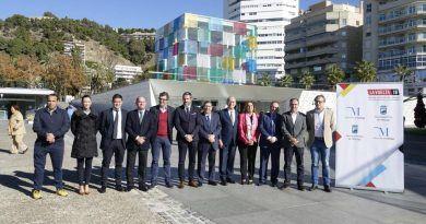 Cultura, Deporte y Arte marcan la salida oficial de La Vuelta 2018 desde el Centre Pompidou de Málaga el 25 de agosto