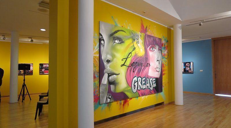 'Lagunillas Grease' muestra la cara más social y artística del céntrico barrio malagueño en el MVA de Diputación