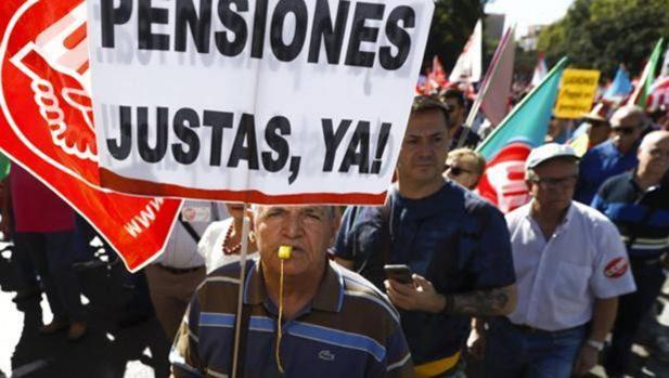 Miles de personas clamaron en Málaga por unas pensiones justas el pasado fin de semana