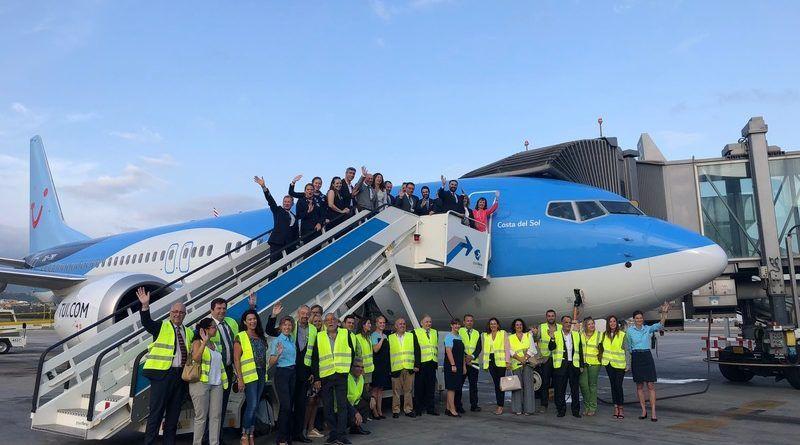 TUI bautiza un avión con la imagen de la Costa del Sol