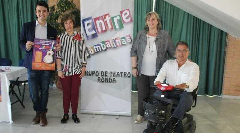 nuevo espectáculo musical del grupo de teatro Entrebambalinas, ronda