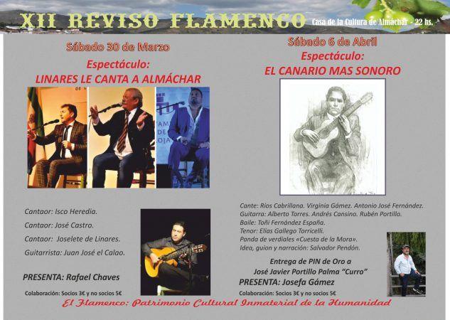 XII Reviso Flamenco de Almachar, Axarquia