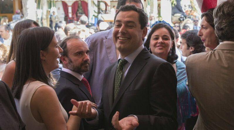 juanma morerno, presidente de la junta de andalucía