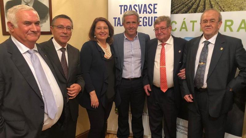 El Trasvase Tajo-Segura es crucial para el desarrollo económico del levante español
