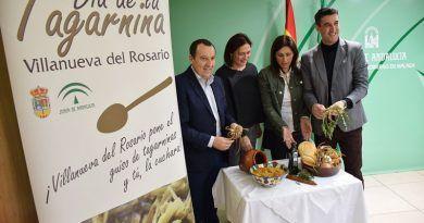 Villanueva del Rosario celebra el sábado su V Día de la Tagarnina poniendo en valor su patrimonio gastronómico como recurso turístico