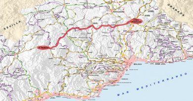 Se proyecta crear un eje de carreteras provinciales entre Las Pedrizas y la Sierra de las Nieves