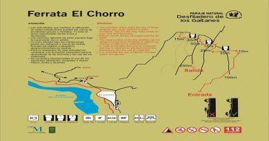 Una nueva vía ferrata incrementa la oferta de turismo activo del Caminito del Rey