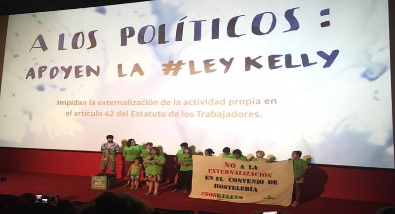 """Esas trabajadores invisibles que se hacen llamar """"Las Kellys"""""""