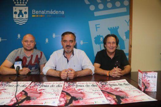 El concejal Bernardo Jiménez presenta la quinta edición de la Fería de Día de Arroyo de la Miel @ Arroyo de la Miel, Benalmadena