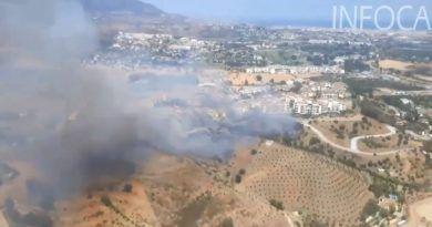 Declarados dos incendios en Mijas