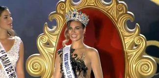 Mª del Mar Aguilera se hace con la corona de Miss World Spain (Melilla TV)