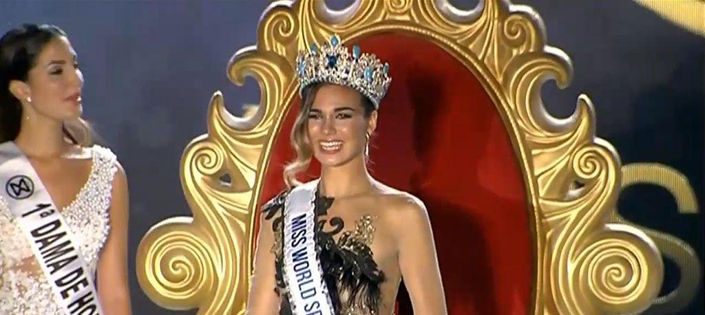 Mª del Mar Aguilera se hace con la corona de Miss World Spain (Melilla TV)