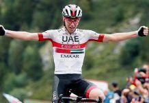 Tadej Pogacar (UAE Team Emirates) gana la etapa andorra
