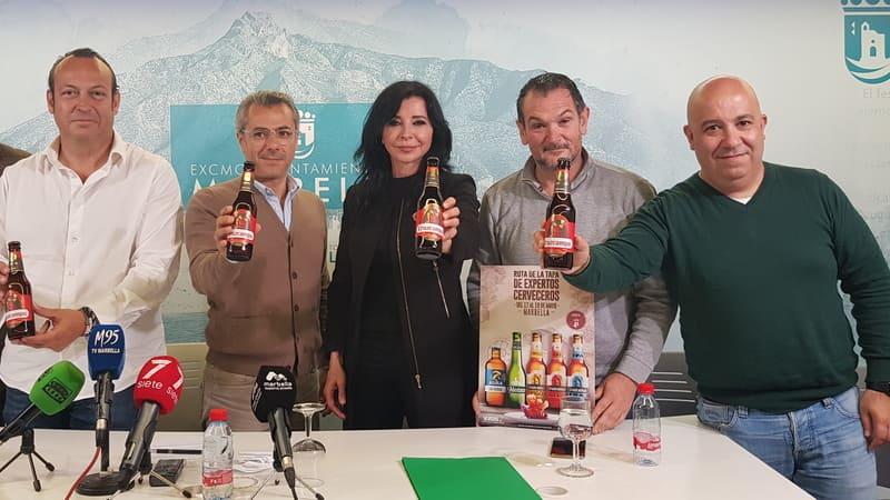 ruta de la tapa de expertos cerveceros, marbella