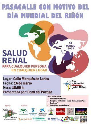 dia mundial del riñon, malag