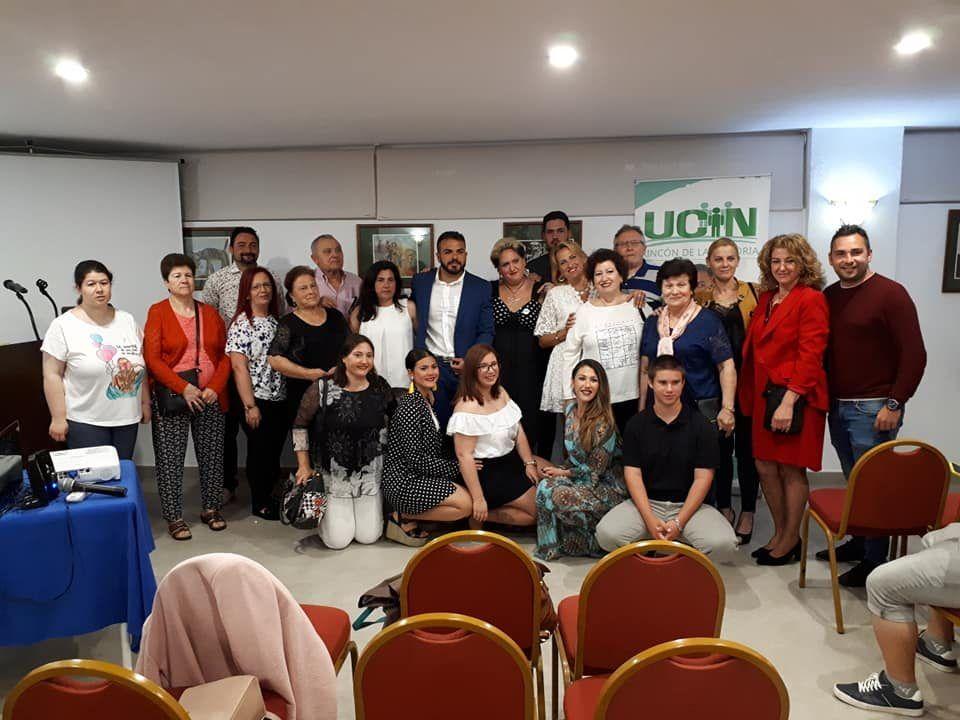 presentación de la campaña de UCIN Rincón de la Victoria, Axarquía