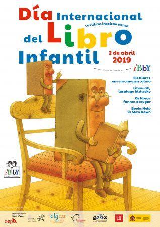 cartel dia internacional del libro infantil, cultura