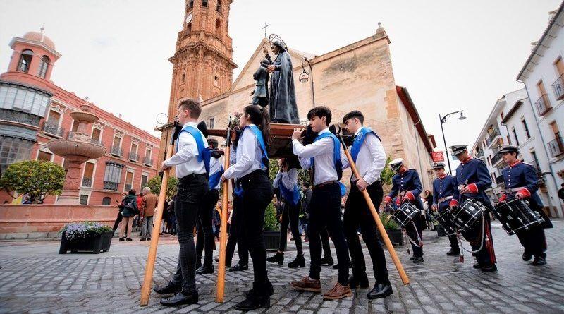 procesión san juan bautista, antequera