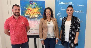 La II Gala Sol Carnaval tendrá lugar en Alhaurín el Grande el 13 de octubre