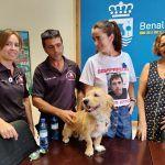 La unidad canina participará en la búsqueda del desaparecido Antonio Ortega