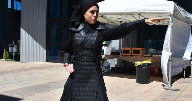 La serie 'Warrior Nun' de Netflix realiza su rodaje en Alhaurín de la Torre