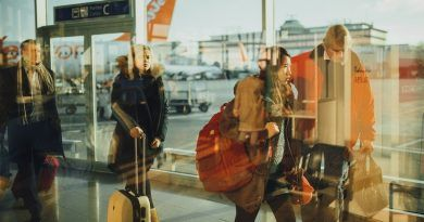 aeropuerto, viajeros