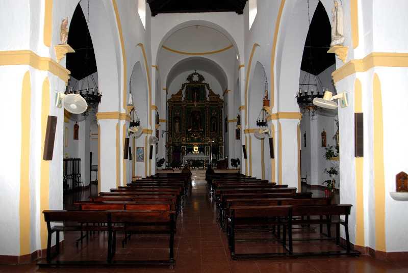 Iglesia de Nuestra Señora del Rosario y San León Magno, Canillas de Aceituno