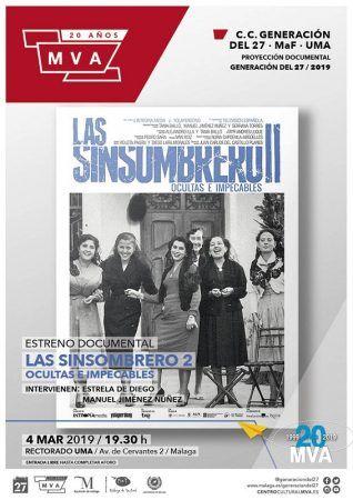 Las Sinsombrero 2, cine