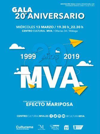 veinte años de centro cultural, málaga