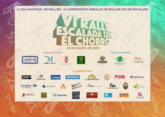 VI Rally 12 horas el chorro, valle del guadalhorce