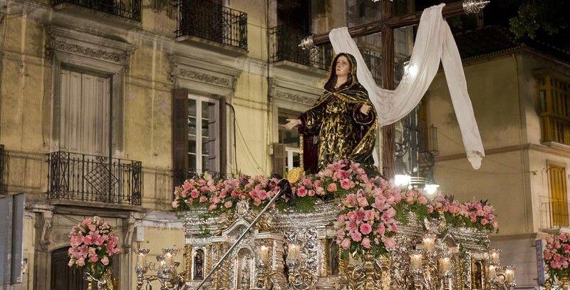 procesiones de málaga, viernes santo
