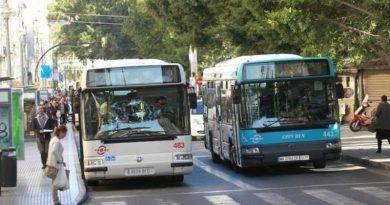 El Ayuntamiento cambiará algunas paradas de bus con motivos de las obras de la Alameda Principal