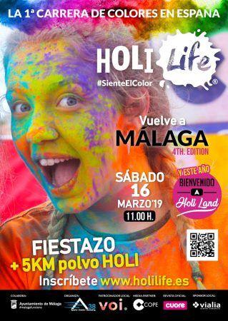 Holi Life 2019, Málaga
