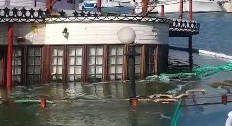 US WILLOW, barco hundido - benalmadena