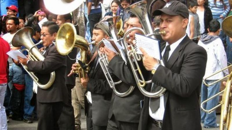 bandas de música, semana santa