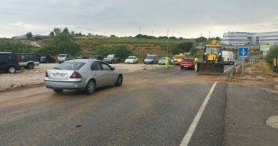 Las lluvias caídas en Ronda ayer provocaron más de una treintena de incidencias