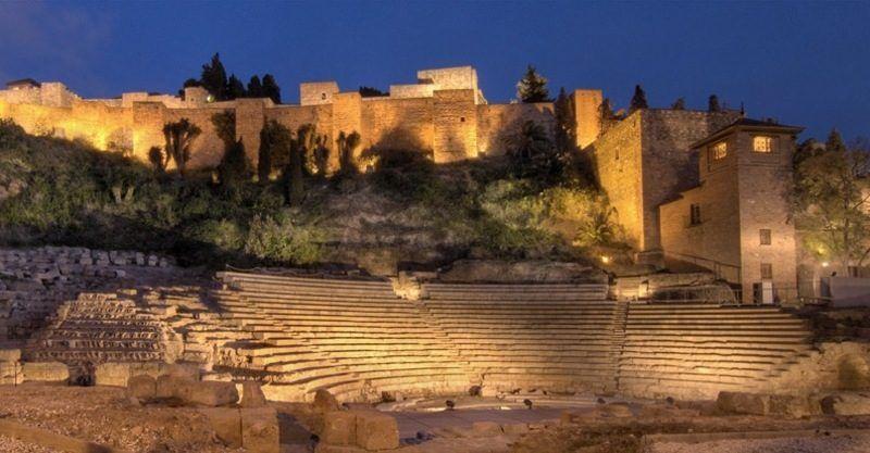 proyecto de rehabilitar el teatro romano, málaga