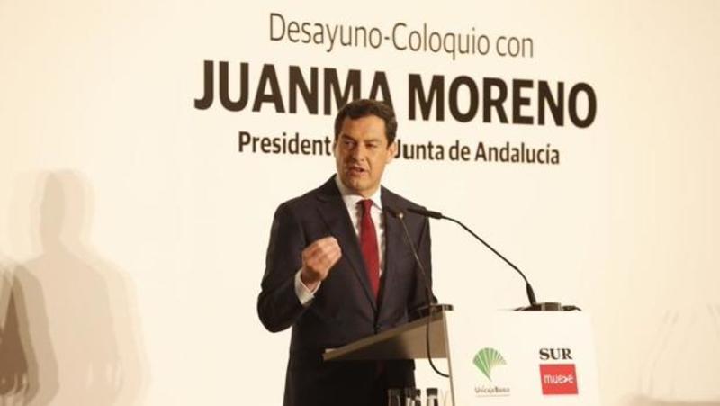 juanma moreno, política