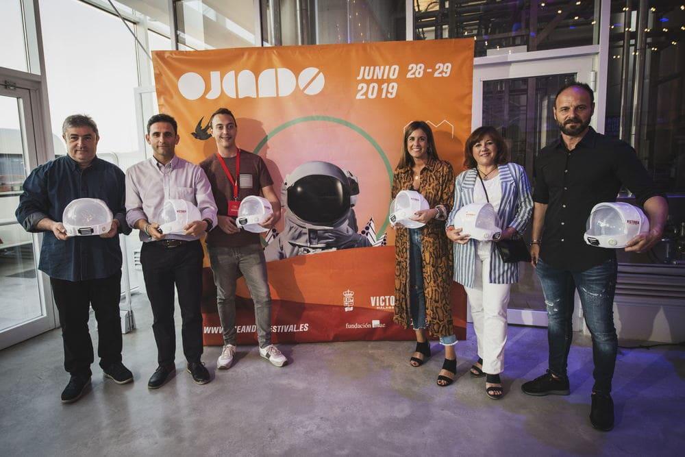 presentación de Ojeando Festival 2019, en la fabrica Victoria de Málaga