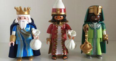 Los Reyes Magos descubrieron el lugar más feliz del planeta. Llegan a Villanueva de Tapia