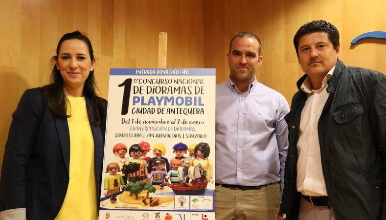 El I Concurso Nacional Dioramas de Playmobil en Antequera hasta el 1 de enero @ Antequera