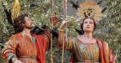 18 de Junio San Ciriaco y Santa Paula día de los Patronos de Málaga