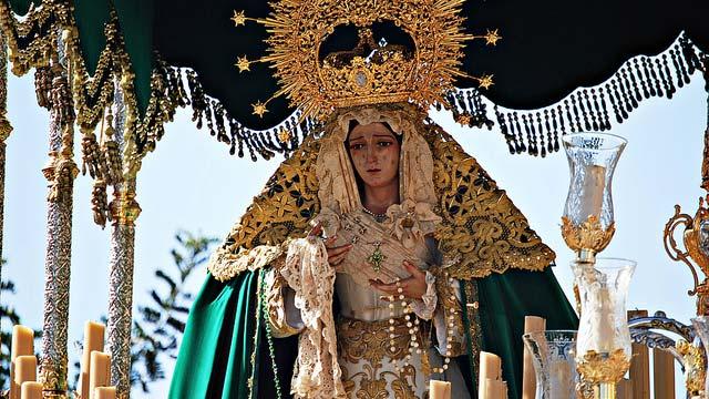 procesiones de martes santo, málaga