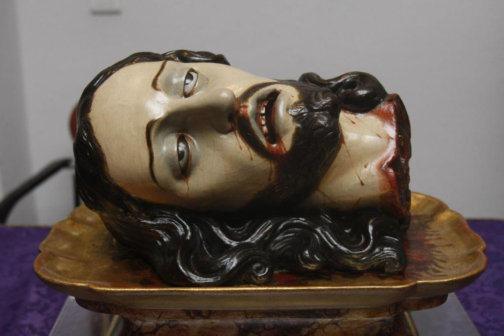cabeza de san juan, semana santa má