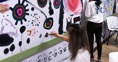 dibujo colaborativo y social, Málaga
